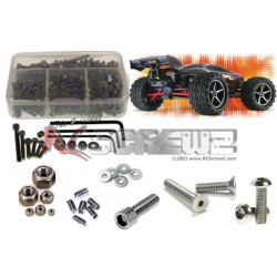 SLVR Traxxas 1/16th E-Revo VXL Stainless Steel Screw Kit RCscrewz